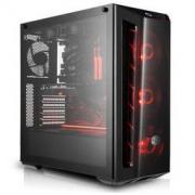 酷冷至尊(CoolerMaster)MB520(旋风520)台式电脑中塔机箱(ATX主板/前镜面板/玻璃侧板/独立电源仓)249元