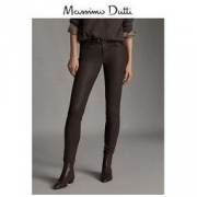 Massimo Dutti 05057657717 女士紧身休闲长裤120元