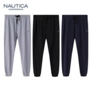 Nautica Underwear 诺帝卡 秋季新款棉休闲长裤
