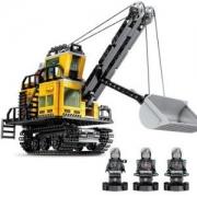 SEMBOBLOCK森宝积木 107026 流浪地球矿区机械铲车-484颗粒44元包邮(需用券)