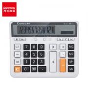 Comix 齐心 EC21 12位双电源计算器 *3件41.27元(合13.76元/件)