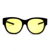 One&One 日夜两用 防远光偏光开车太阳镜 套镜 可直接套在近视镜上