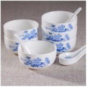 YunTang 韵唐 陶瓷餐具6碗6勺12件套 *3件62.79元(合20.93元/件)
