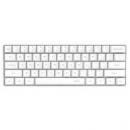 ikbc poker 61键 迷你原厂Cherry轴 PBT键帽 机械键盘 (游戏键盘 人体工学) 白色 黑轴269元