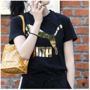puma彪马女装跑步训练运动服金标大LOGO圆领休闲短袖T恤579406138元