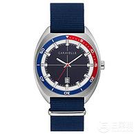 Bulova宝路华旗下,Caravelle 43B167 男士可乐圈时装腕表