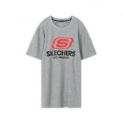 SKECHERS 斯凯奇 L220M152 男士运动T恤