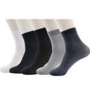Langsha 浪莎 47614386371 男士短袜 5双装 *3件18.48元包邮(合6.16元/件)