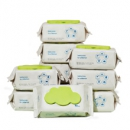 babycare 婴儿手口湿巾  80抽-10包89元