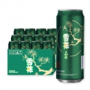 Snowbeer 雪花啤酒  8度晶粹 500ml*12听 *3件89元(双重优惠,合29.67元/件)
