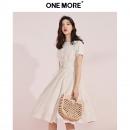 ONE MORE A1XA9205B10 女士纹理两件套连衣裙119元