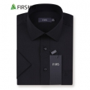 FIRS 杉杉 TRT4085 男士高支棉免烫短袖衬衫*2件89元包邮(需用券,合44.5元/件)