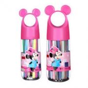 Disney 迪士尼 D01388 可水洗水彩笔 24色 粉色 *3件