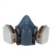 3M 防毒面罩7502+6001防尘套装 KN95 中号206元