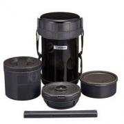 ZOJIRUSHI 象印 黑色不锈钢保温饭盒便当盒 SL-XE20-AD184.48元