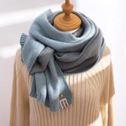 保暖必备!Teamifer 缇米芬 女款INS风毛线围巾¥9.80 1.7折