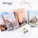 白菜价:Wengu 文谷  A5密码锁笔记本 120张17.8元包邮(需用券)