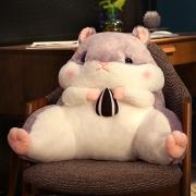火轮 仓鼠抱枕靠枕两用 50*40*23cm 多款可选27元包邮