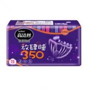 kotex 高洁丝 棉柔丝薄系列 夜用卫生巾 350mm 5片 *16件