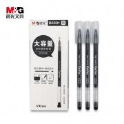 M&G 晨光 Y5501 大容量中性笔 黑色 6支装3.9元包邮(需用劵)