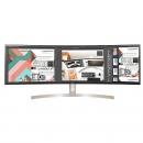 LG 49WL95C-W 49英寸曲面显示器(3PBP/HDR10/32:9超宽/旋转升降底座)