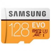 SAMSUNG 三星 存储卡 MP EVO黄色升级版 高速TF卡(Micro SD卡)128GB
