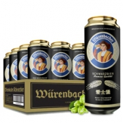 Eichbaum 爱士堡 黑啤酒 500ml*24 听