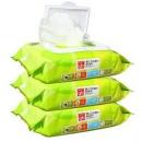 gb 好孩子 橄榄杀菌滋养湿巾纸 80片*3包 *3件37.36元(合12.45元/件)