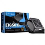 SILVER STONE 银欣 ET650-B 电脑电源 铜牌(85%)650W 非模组化