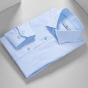 HLA 海澜之家 HNCAD3E043A 男士丝光波浪纹正装长袖衬衫