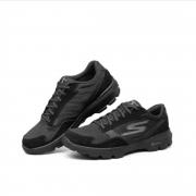 Skechers斯凯奇男鞋 GO WALK 3 时尚百搭健步鞋 舒适缓震运动休闲鞋 54056 黑色BBK 42