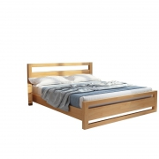 客家木匠 经济实木单人床 框架结构 1.2*1.9m 856元包邮(需用券)