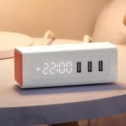 BULL 公牛 UUP152 usb床头闹钟充电插排 79元包邮