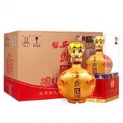 西凤 白酒 浓香型 陈酒贡品 52度 500ml*6瓶 整箱装(新老包装随机发) *2件536.4元(合268.2元/件)