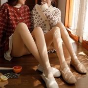 【2条装】【果雅娜】光腿神器!加绒打底裤19.9元