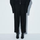 限尺码! JNBY 江南布衣 5H9310620 女士直筒纯羊毛西裤¥192.00 1.9折