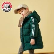 反季特价 史努比 儿童中长款连帽 羽绒服 90%含绒量139元包邮
