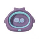 收纳方便!蓝奇宝贝 婴儿可折叠洗脸盆 6.9元包邮(需用券)¥6.90 3.6折