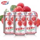 【宏宝莱】荔枝味汽水330ml整箱12罐18.9元