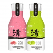 聚划算百亿补贴: NEW HOPE 新希望 乳酸菌发酵风味饮品 清柠1L+清桃1L9.9元包邮