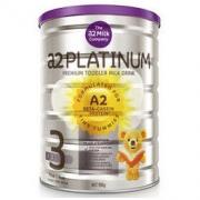 A2 艾尔 Platinum 白金版 婴幼儿配方奶粉 3段 900g170.72元