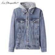 La Chapelle+ 男士春秋季牛仔外套 情侣装夹克109元包邮(需用券)
