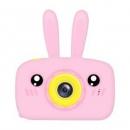 HearthSong哈尚 儿童卡通相机 2000W像素 粉色兔子+32G内存卡69元包邮(双重优惠)