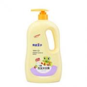 FROGPRINCE 青蛙王子 儿童洗发沐浴二合一 1.1L 椰油精华 *7件131.45元(合18.78元/件)