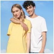 Baleno 班尼路 88902284 情侣款纯棉短袖T恤 *3件