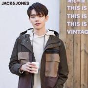 JACK JONES 杰克琼斯 219321514 男士工装撞色夹克