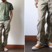 Carhartt 男士斜纹工装长裤 B290 到手¥261.69