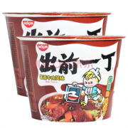 Nissin DIGITAL 日清 出前一丁 酱香牛肉风味 碗面 107g*2碗