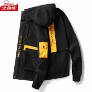 PLUS会员:北极绒 JK899 男士连帽工装夹克49元包邮(需用券)