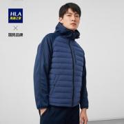 HLA/海澜之家 男士时尚拼接羽绒服 90%含绒量179元包邮